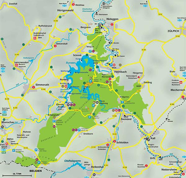 Eifel Karte Pdf.Privatzimmer Wergen 53937 Schleiden